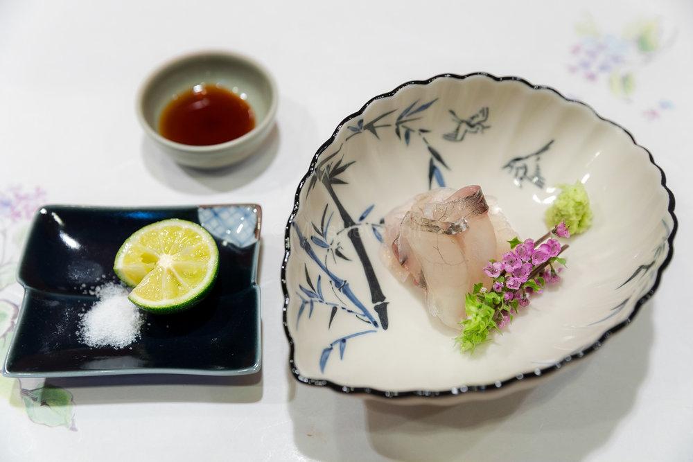 8. Kochi Sashimi (Flat Head) | コチ刺身