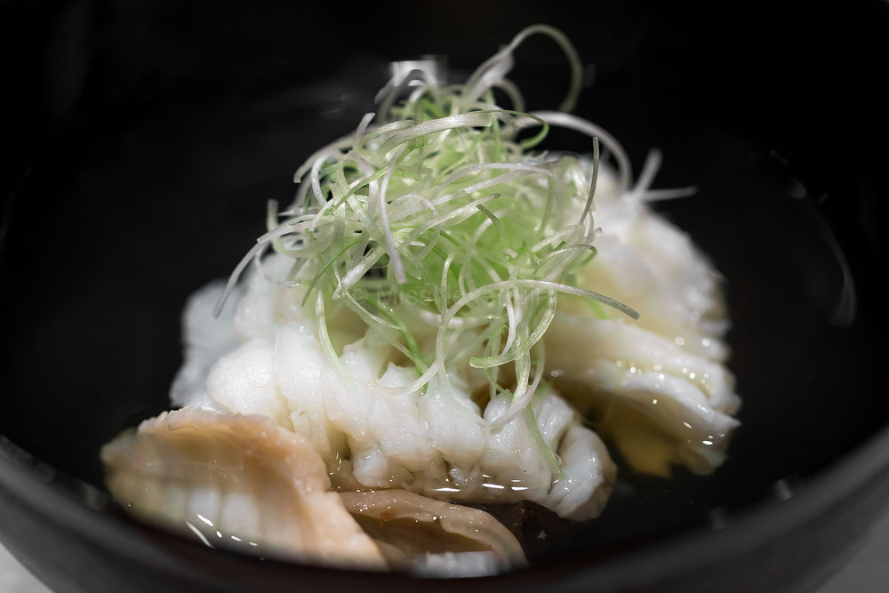 9. Okoze Owan (stingfish soup)