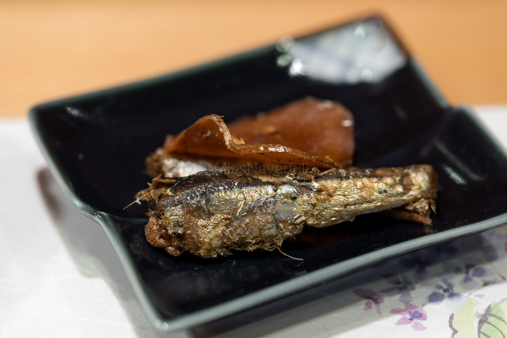 Marinated Iwashi for Ocha-zuke | 鰯(お茶漬け)