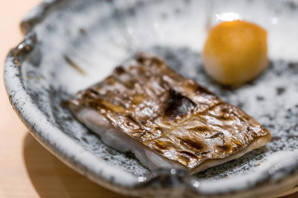 太刀魚塩焼き / Grilled Tachiuo