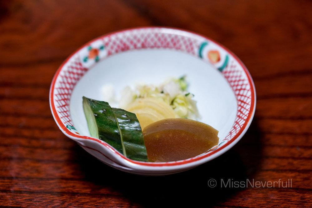 香物 / Pickles