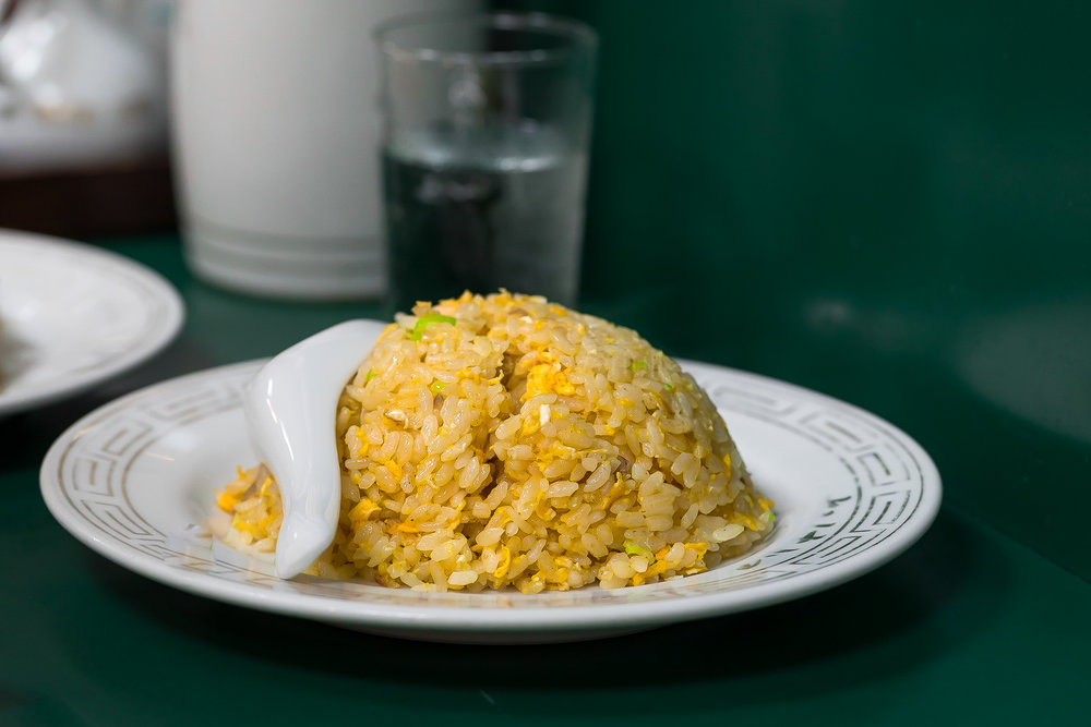 木樨炒飯 | Egg Fried Rice (normal size JPY 740)