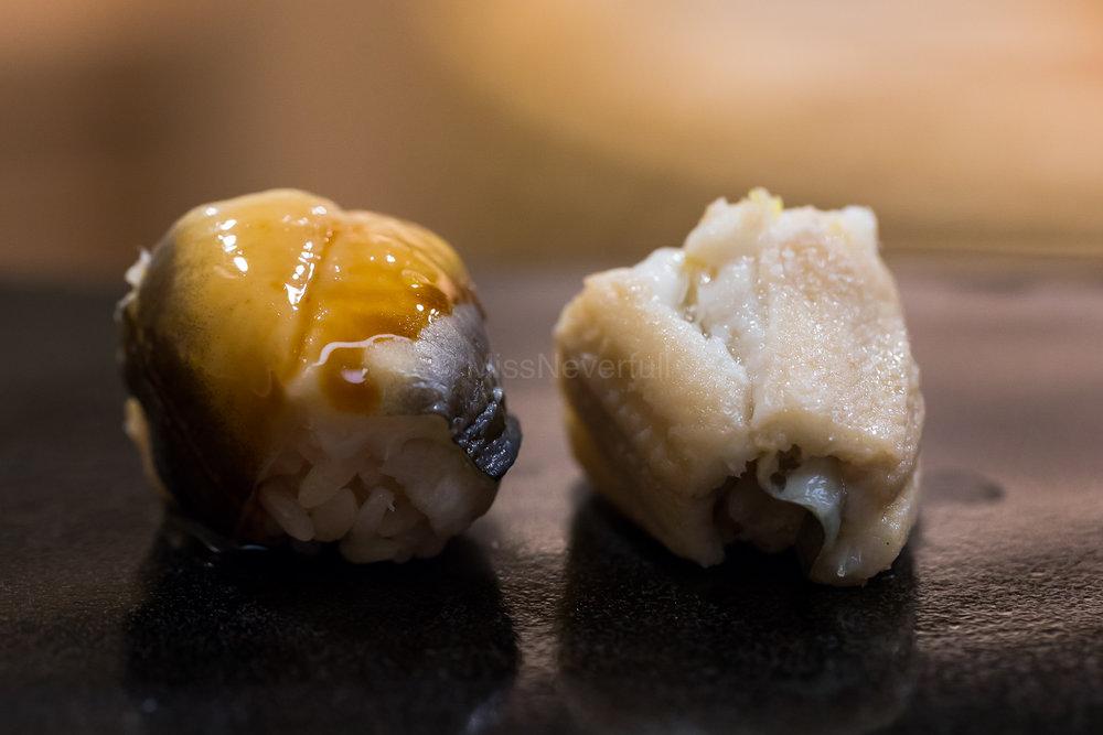 15. Anago (Tsume and Shio)
