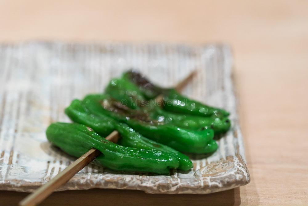 6. Shishito pepper | 獅子唐