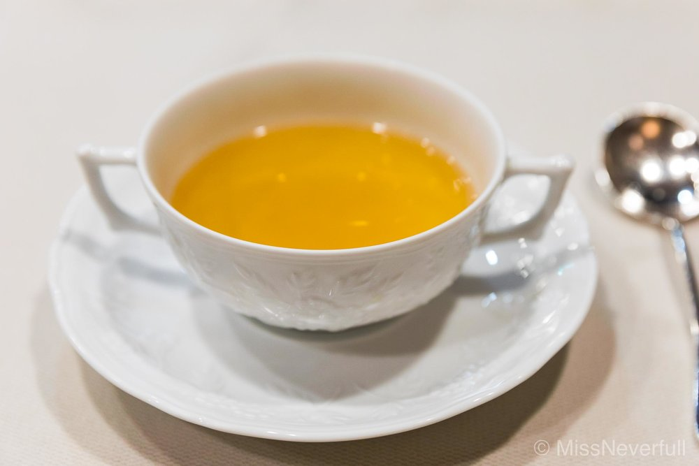 2. Beef consomme