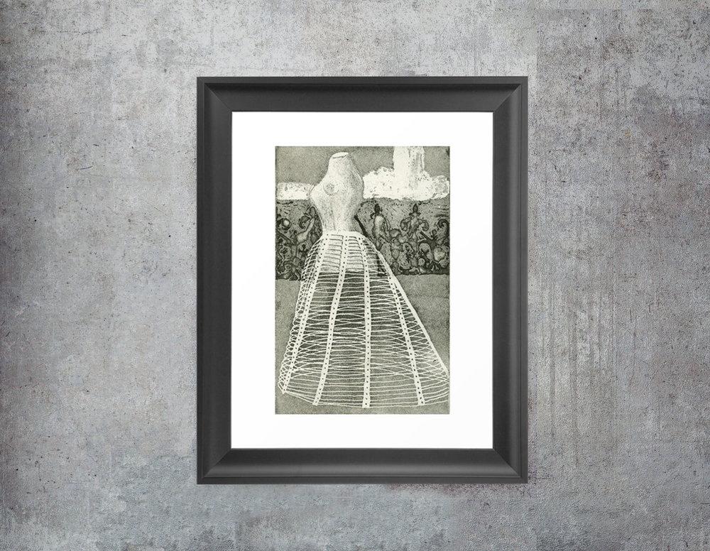 New Art Print: Crinoline