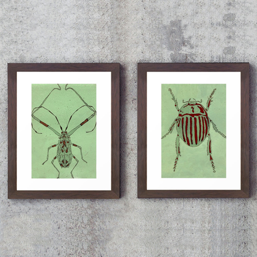 bugs.jpgNew Prints: Bug Etchings