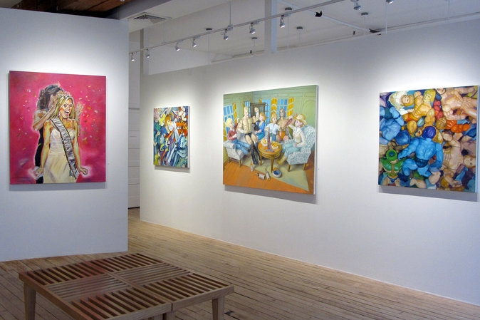 The Carter Burden Gallery in Chelsea only shows works by artists who are at least 60 years old. (Carter Burden Gallery)