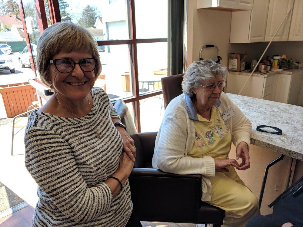Susan Brazill at the Aurora Adult Day Services center    AVERY SCHNEIDER / WBFO NEWS