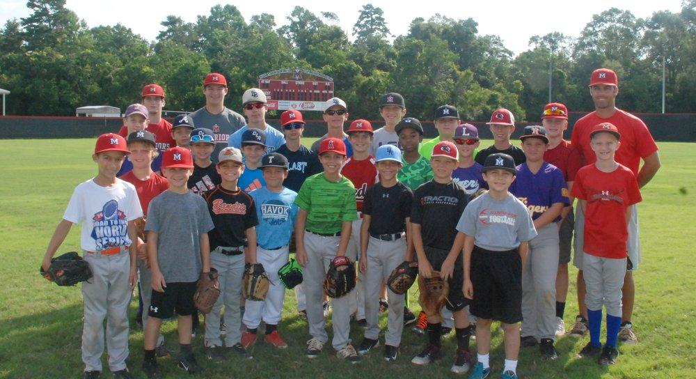 Baseball Camp #1 Hitting, Bunting, Base Running June 12-14 /9:00am – 12:00pm 3rd – 8th grade /Cost: $100 Baseball Camp #2 Pitching, Catching, Infield, Outfield July 10-12 /9:00am – 12:00pm 3rd – 8th grade /Cost: $100