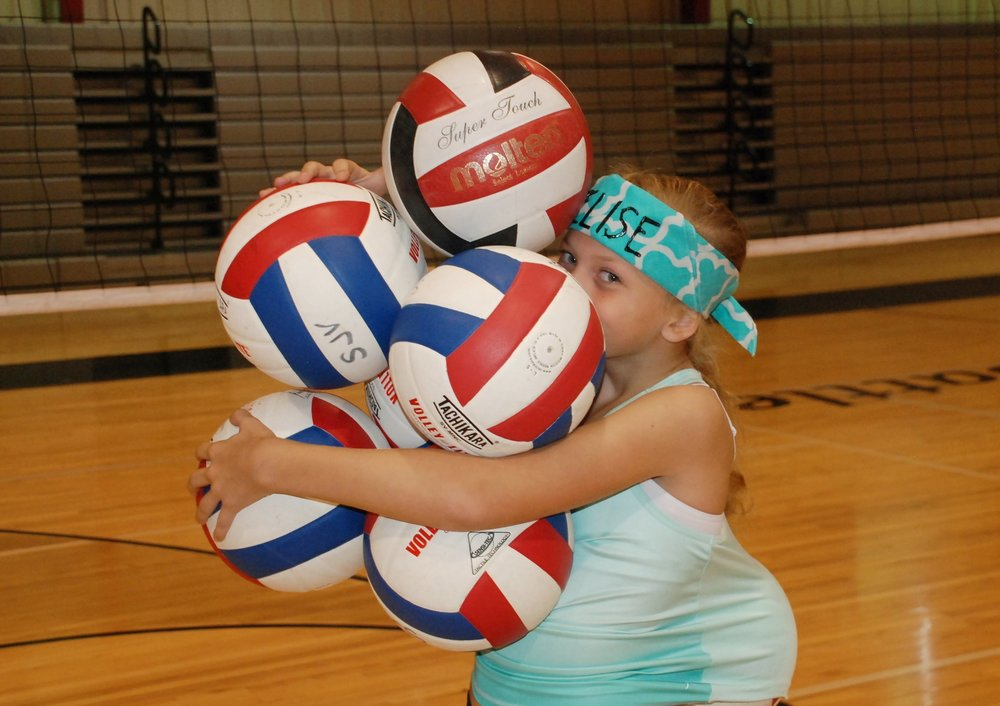 """Volleyball Camp #1 June 12-16 /8:00am – 11:00am 4th – 6th grade /Cost: $120 Volleyball Camp #2 -""""Setting and Hitting"""" June 12-16 /11:00am – 12:00pm 6th – 8th grade /Cost: $75 Volleyball Camp #3 June 12-16 /12:30pm – 3:30pm 7th – 8th grade /Cost: $120"""
