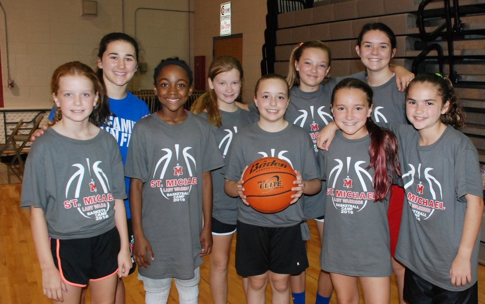 Girls Basketball Camp May 30-June 2 /9:00am – 12:00pm 5th – 8th grade /Cost: $120
