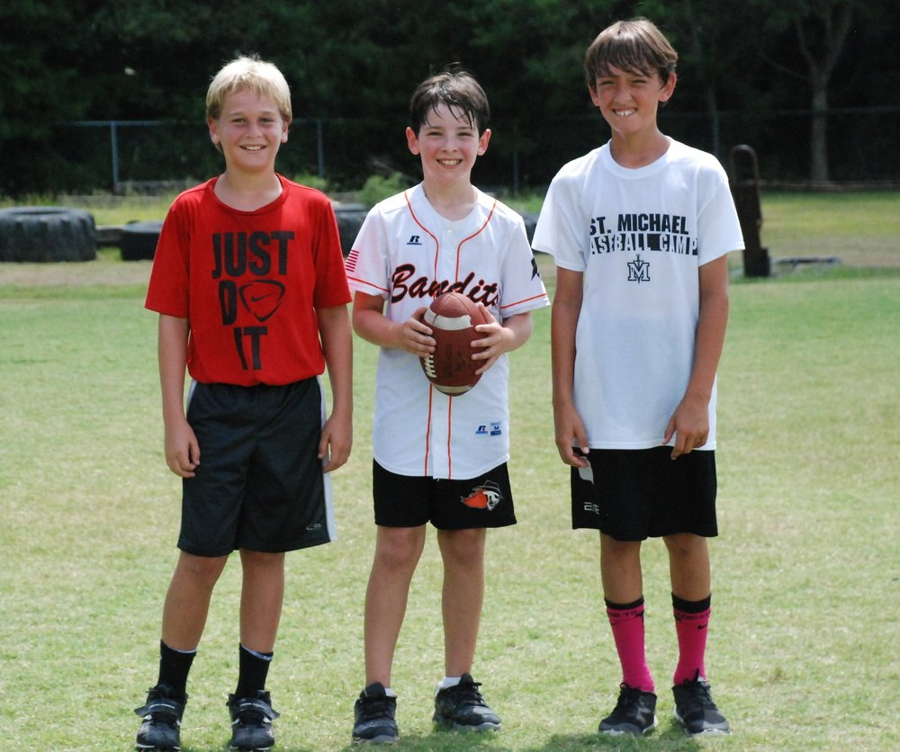 Football Camp July 17-20 /9:00am – 12:00pm 5th – 8th grade /Cost: $100