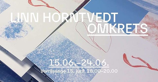 "Book launch and exhibition ""Omkrets"" by Linn Horntvedt this Friday, June 15th at 18:00! #silkscreen #risograph #artistsbooks"