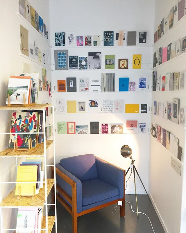 Our new zine library
