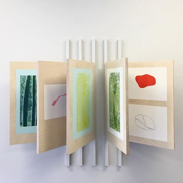 @linnhorntvedt exhibits riso prints