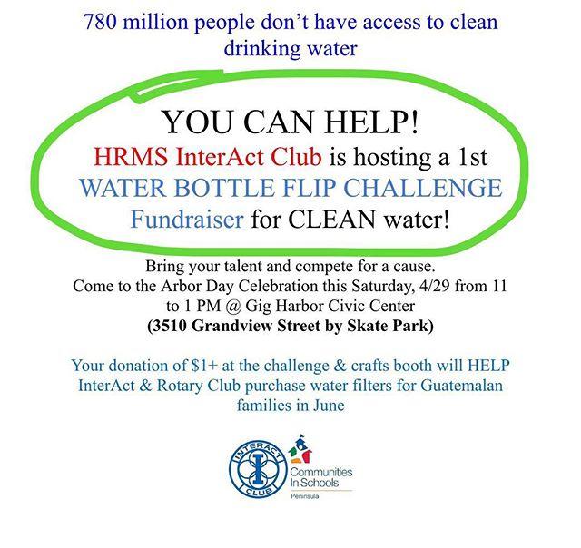 Sunday - Water Bottle Flip Challenge!! #HRMSinteract #falconproud