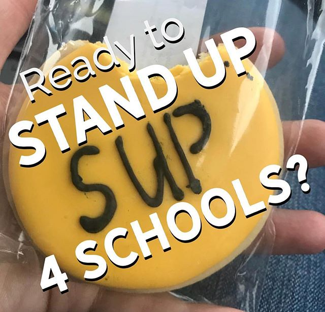 Ready to help STAND UP FOR SCHOOLS (SUP)? Let's get the word out to help pass the upcoming Bond so schools can get up to par!  Currently, HRMS has 3 phone calling dates, 1 phone banking date and 1 sign waving date.  Feb 3rd: Door Belling - Location information will be sent soon to volunteers.  Sign up here: http://allin4kids.bringit.bz/public/668ad8 3 volunteers 9 am -12 pm 3 volunteers 12 - 3 pm  Phone Bank Dates - Scripts will be available and you will be calling targeted households in your school's area.  Please bring you cell phone.  Feb 12th 6-8 pm at Windermere Professional http://allin4kids.bringit.bz/public/5f1dfc Mar 12  6-8 pm at Windermere Professional  http://allin4kids.bringit.bz/public/24ce03 April 3 6-8 pm at Windermere Professional http://allin4kids.bringit.bz/public/b7bcab  Sign Waving sign up link will be sent later in February/early March.  Thank you again for your commitment to the campaign.  Lets Do This!!