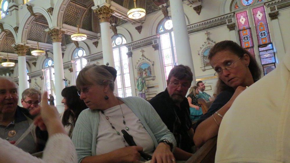 Foto spontaneo alla messa