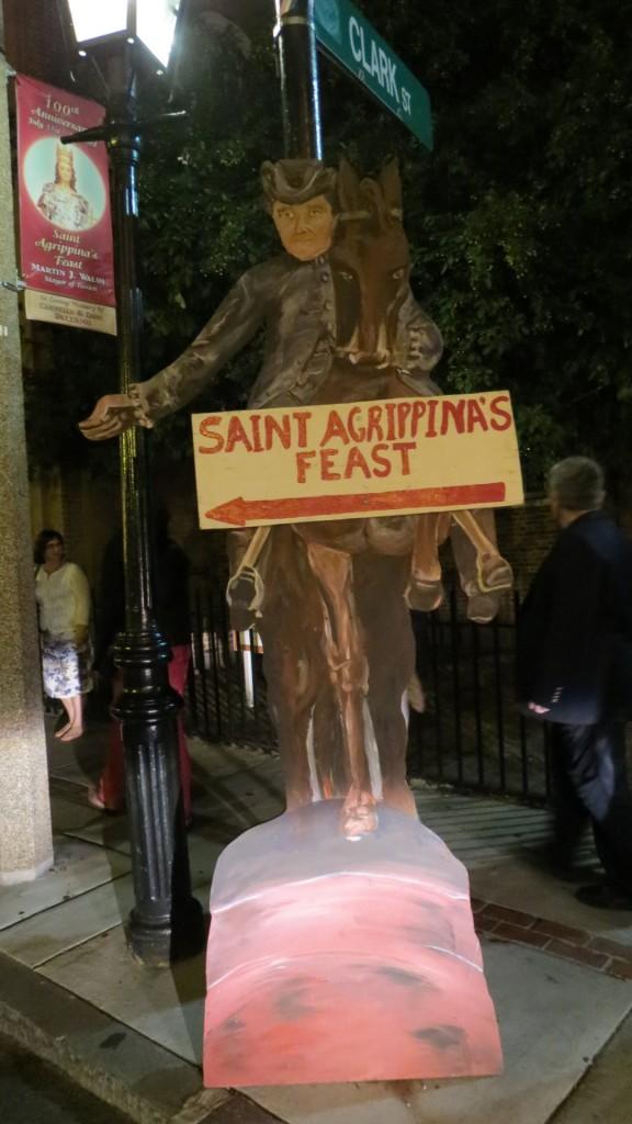 Paul Revere conosce a la strada alla festa!