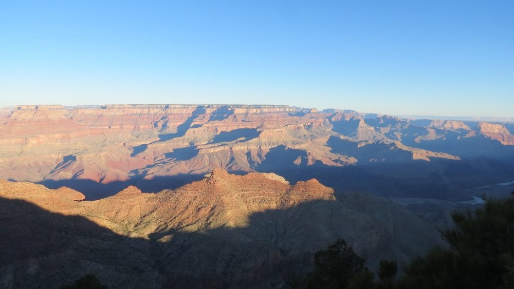 Sunrise on the Grand Canyon!