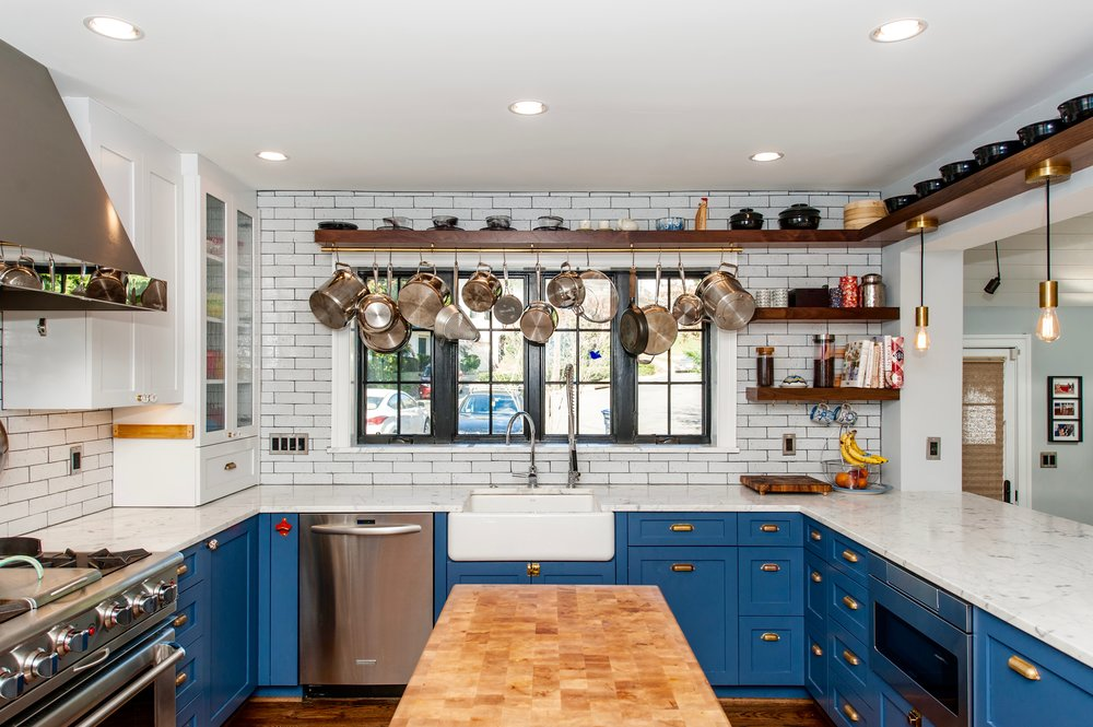 Kitchen Renovation with custom cabinetry