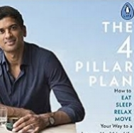 We've just bought the Four Pillar Plan, inspired by it's accessibilty and small, achieveable changes it recommends. And we thought you might be interested in reading about it.   Dr Rangan Chatterjee four pillars are relaxation, food, sleep and movement, and his recommendations are based on cutting edge research and his own experiences as a doctor. We've linked to the book below, but first you might want to dip into these articles which explore Dr Chatterjee's ideas a little more.   Practical and potentially life-changing, The Four Pillar Plan is an inspiring and easy-to-follow guide to better health and happiness.