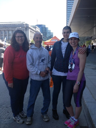 Post-marathon, 2014