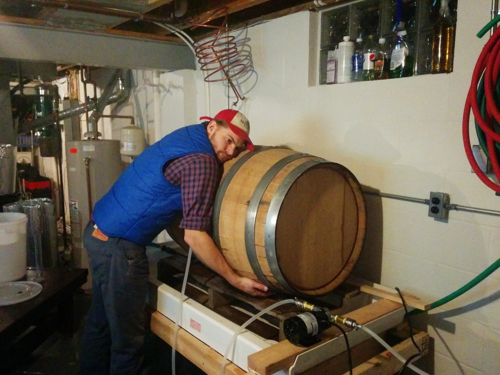 Barrel Love, Warren, 2016