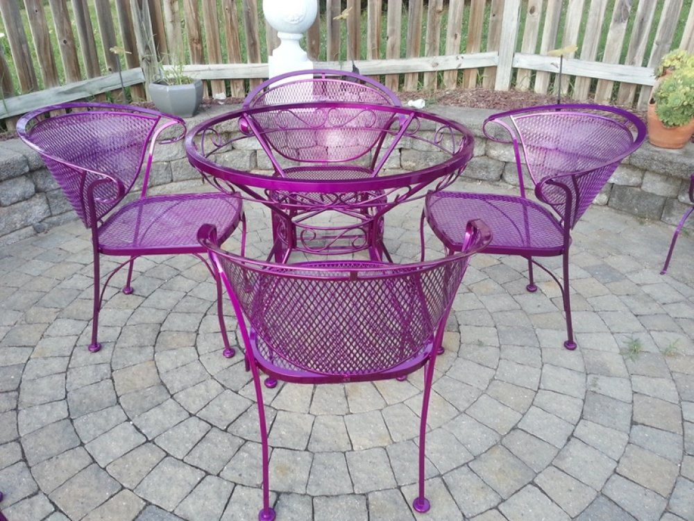 Powder Coated Patio Furniture photos | powder coating md, dc, va, pa, wv | furniture, railings