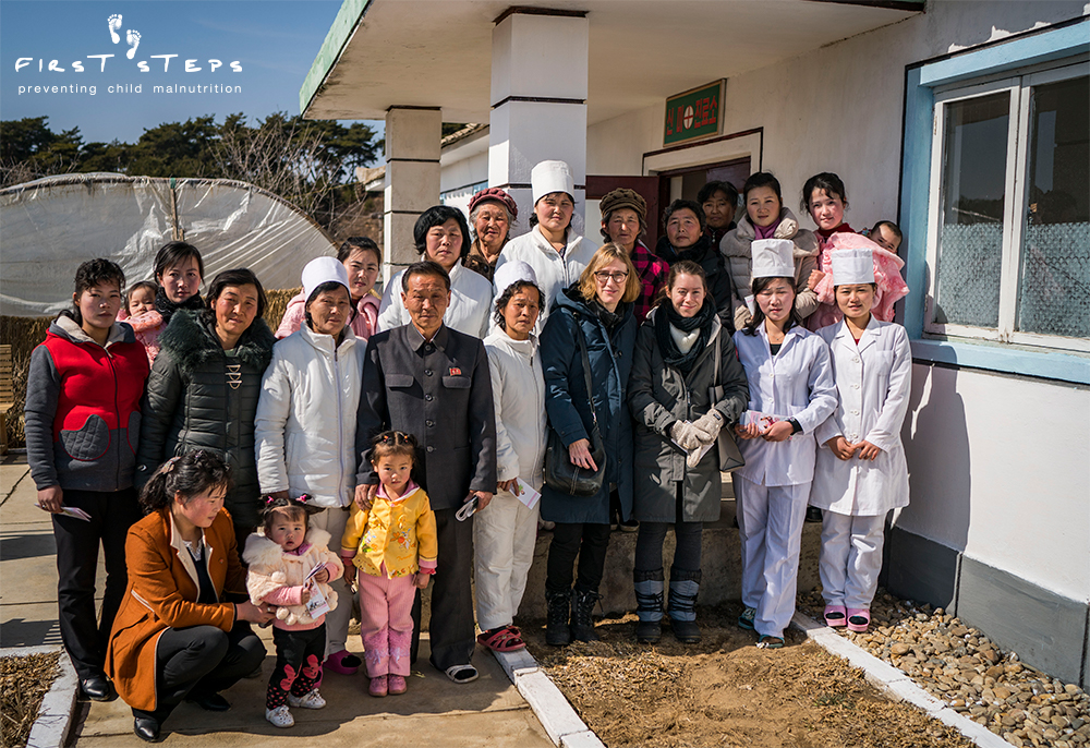 "- Doctors, mothers and children at the Shinmi clinic were excited to be receiving First Steps Sprinkles for the first time. One doctor said, ""I don't know how to express my thanks."""