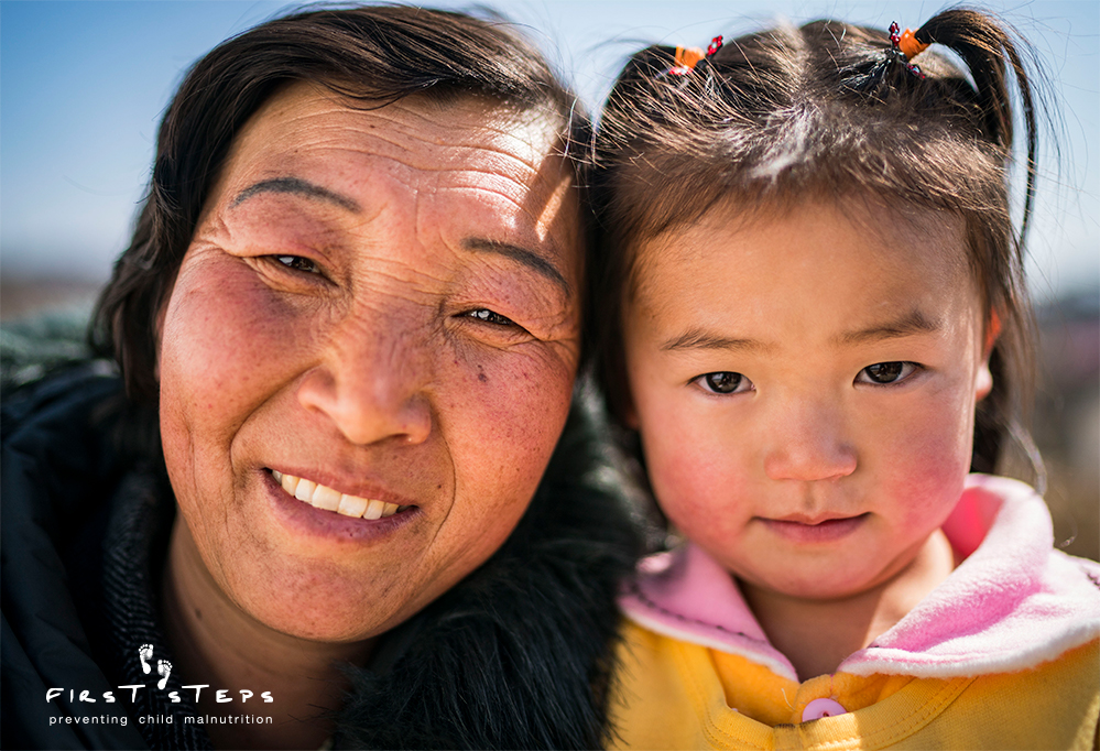 - Four-year-old Shin Na-Re and her grandma, Ri Yon-Ok were two of the happy faces greeting us outside when we arrived at the Shinmi Clinic.