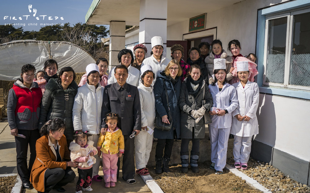 "Doctors, mothers and children at the Shinmi clinic were excited to be receiving First Steps Sprinkles for the first time. One doctor said, ""I don't know how to express my thanks."""