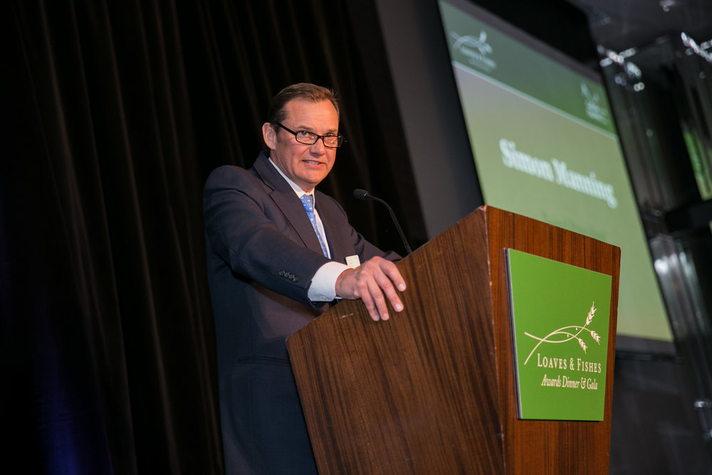 Simon Manning Board President