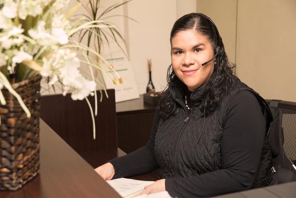 Georgina Yalina Calkins, Administrative Assistant