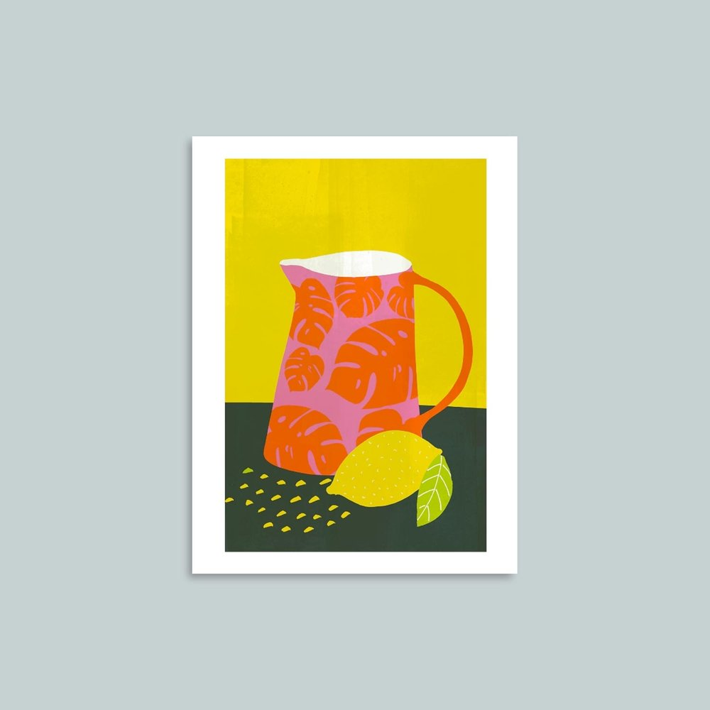 'Lemonade'   Signed giclee print. 40cm x 30cm.   SOLD