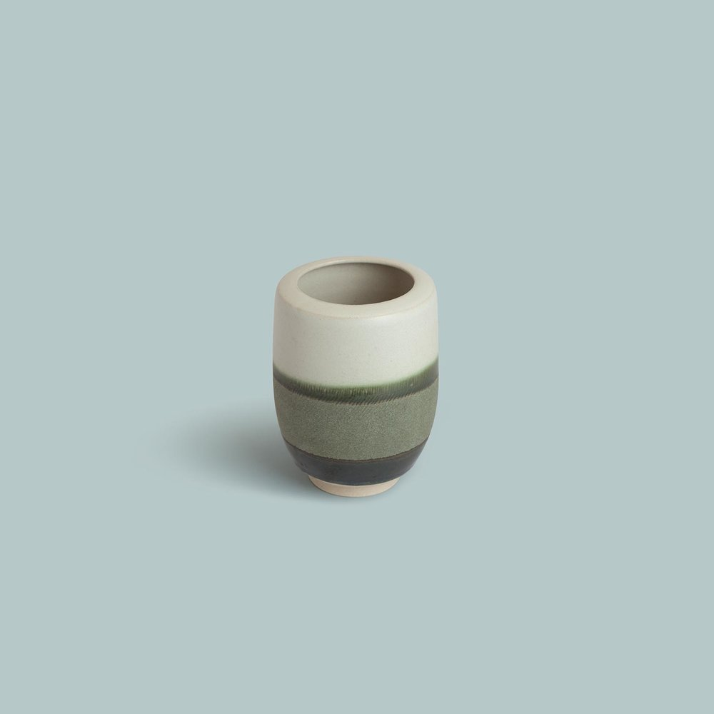 'Tidal'   Medium rounded vase.   SOLD