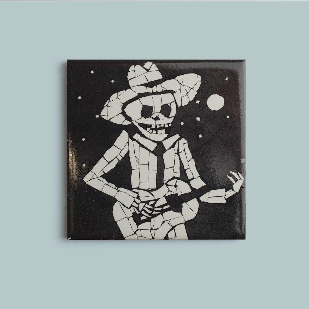Guitarist Coaster   9.5cm £10