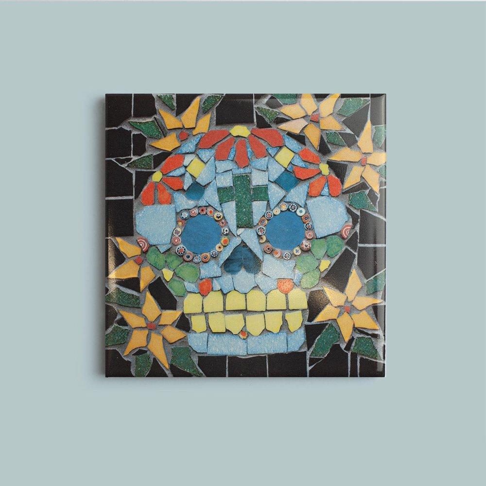 Skull Coaster   9.5cm £10