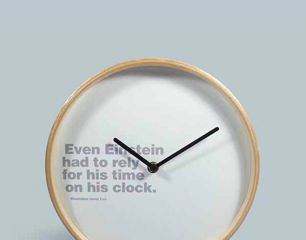 Get your hands on a designer clock