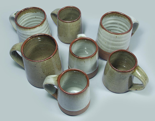 More of Leach Potteries beautiful mugs and bowls