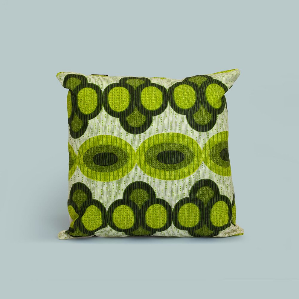 Cushions from original 60s & 70s fabric