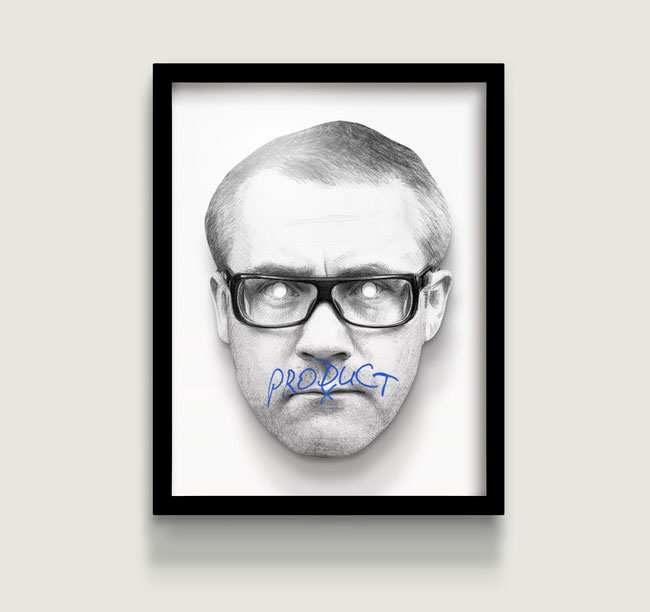 Exhibit A/24   Hirst, Damien  1965-Present  Artist, entrepreneur, art collector     Framed Digital Print. 335mm x 438mm  4/50  £250