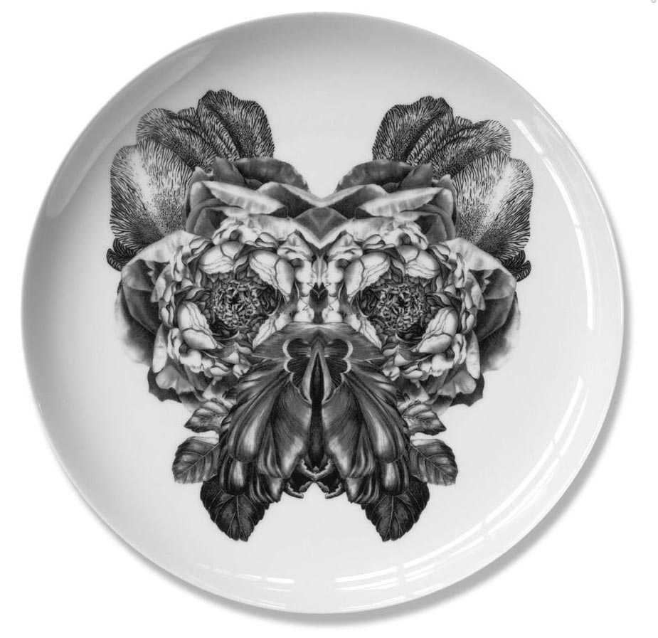 Bill    Fine bone china plate. Produced in Stoke-on-Trent, England Dimensions: 27 cm  Hand applied illustration using decal.  £40.00
