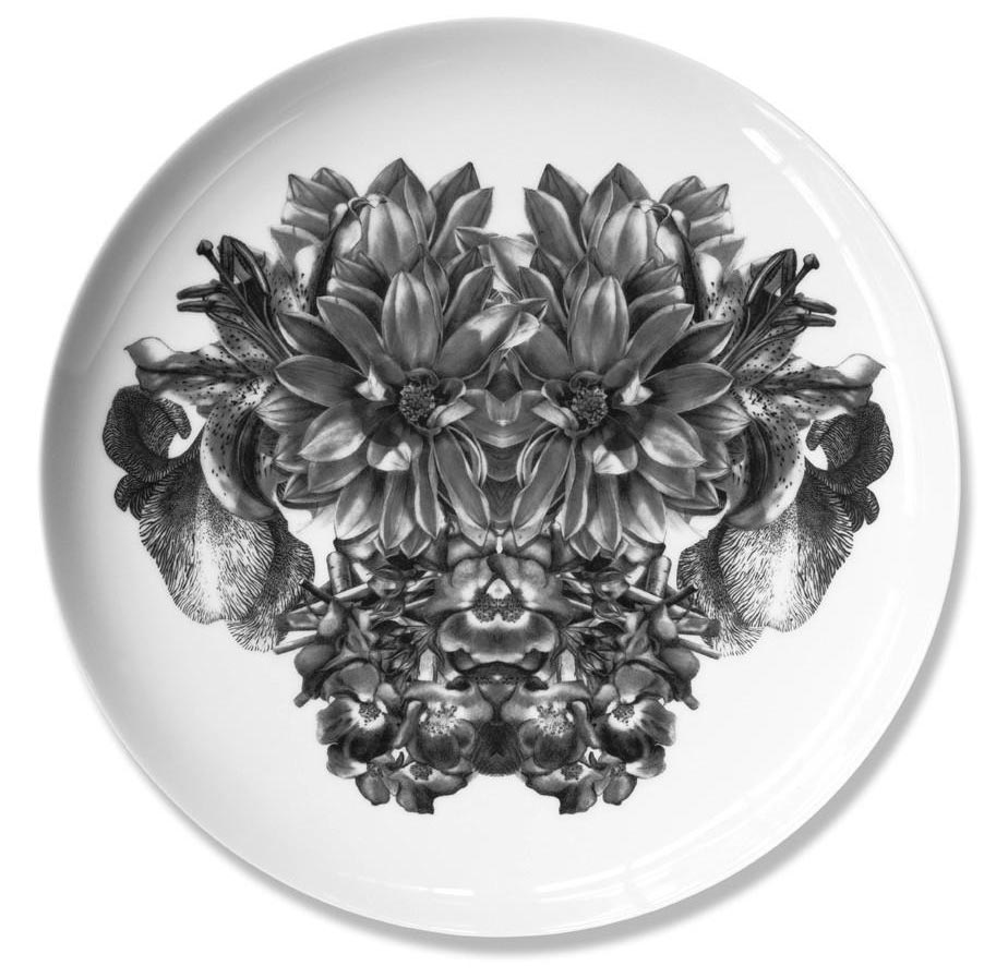 Harry   Fine bone china plate. Produced in Stoke-on-Trent, England Dimensions: 27 cm  Hand applied illustration using decal.  £40.00