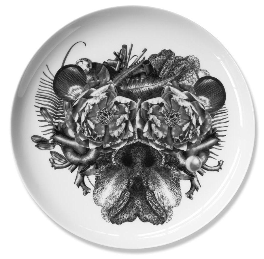 Philip   Fine bone china plate. Produced in Stoke-on-Trent, England Dimensions: 27 cm  Hand applied illustration using decal.  £40.00