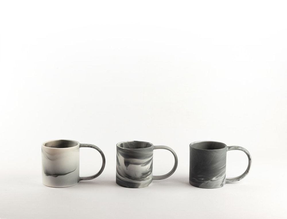 Espresso Cup   Small and beautifully formed. Slip cast parian ceramic.  55mm(d) x 60mm(h)  £20 each
