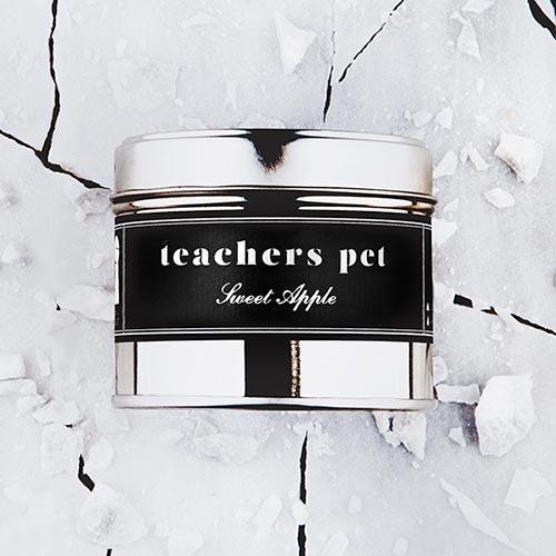 Teachers Pet   Sweet apple fragrance.  Dimensions: 77mm x 65 mm, approx 240g  £10