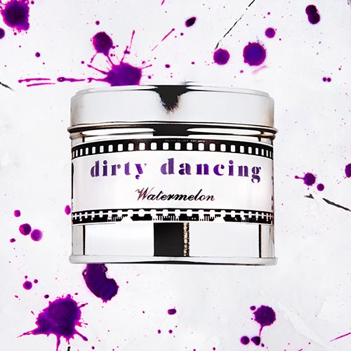 Dirty Dancing   Watermelon fragrance.  Dimensions: 77mm x 65 mm, approx 240g  £10