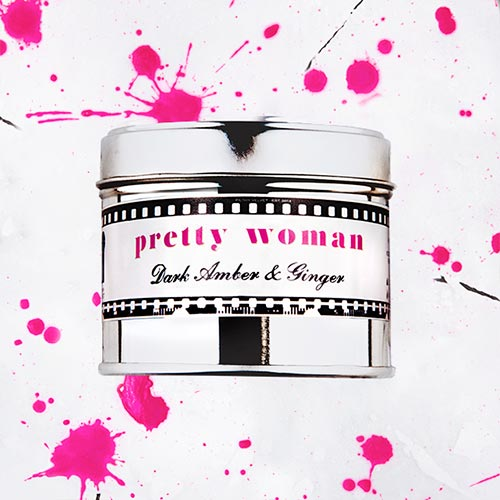 Pretty Woman   Dark amber and ginger fragrance.  Dimensions: 77mm x 65 mm, approx 240g  £10